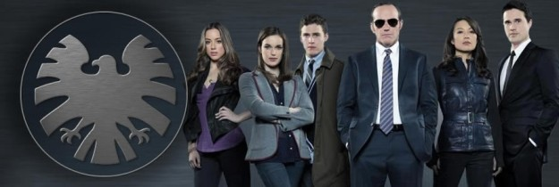 agents of SHIELD cast and logo