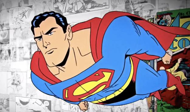 superman 75th anniversary film shot 1